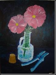 Flowers - acrylic