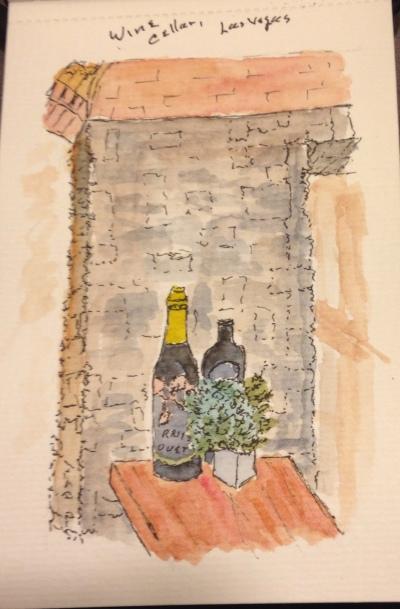 Wine cellar Las Vegas