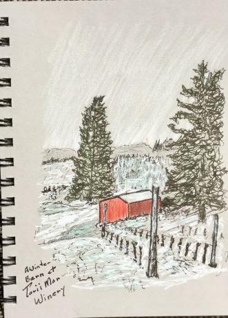 Red Barn at Torii Mor